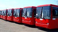 красн автобусы mini